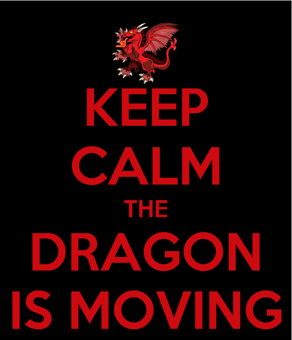 The Dragon is Moving