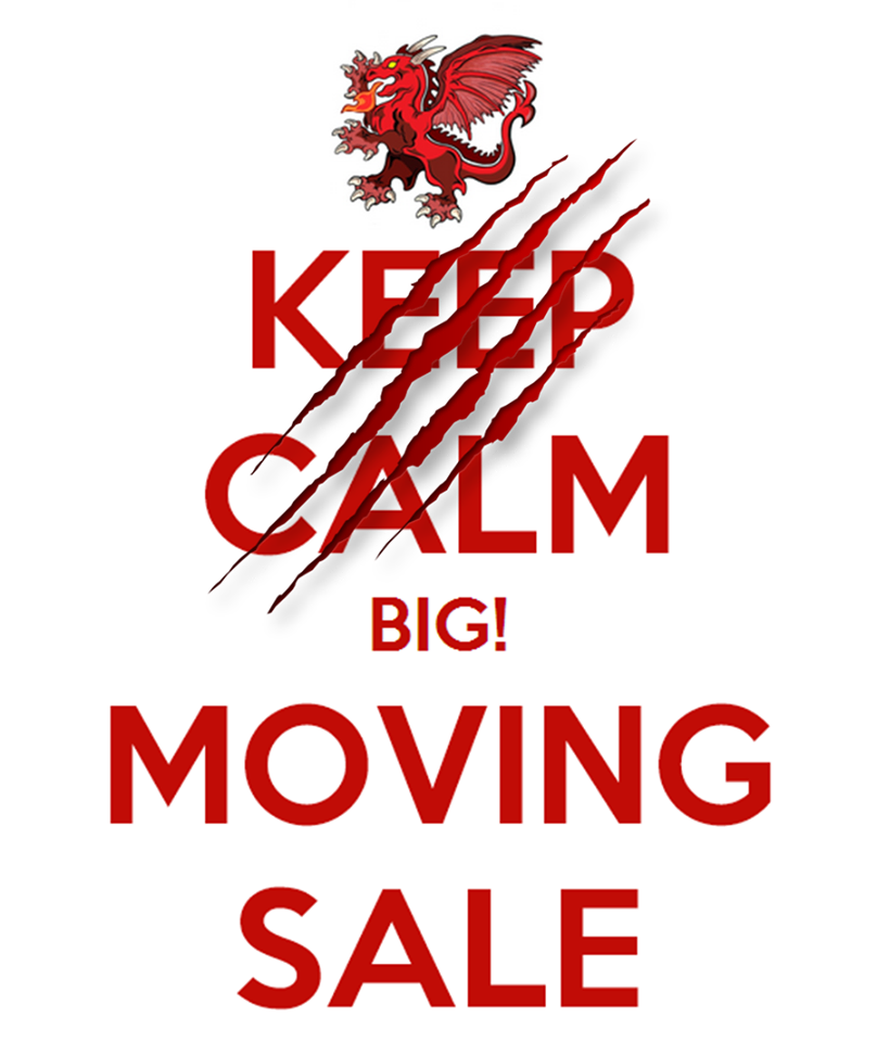 Wandering Dragon Moving Sale