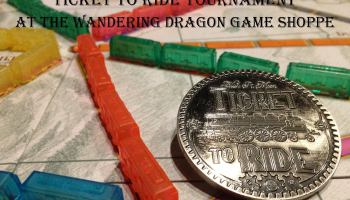 Ticket To Ride Tournament Wandering Dragon Game Shoppe  Escape - Us map dragon