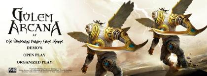 Golem Arcana Wandering Dragon Game Shoppe