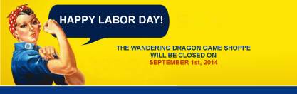 Labor Day Wandering Dragon Game Shoppe