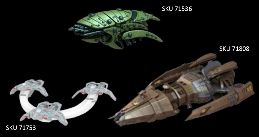 Wizkids Star Trek Attack Wing Wave 11