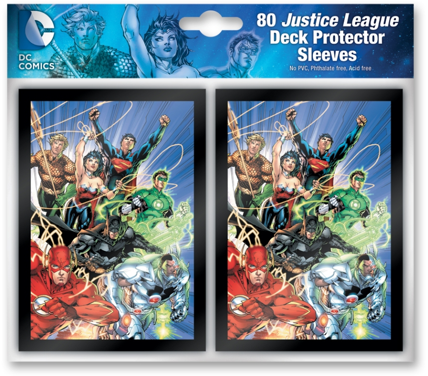 DC DeckBuildingjustice_league_sleeves