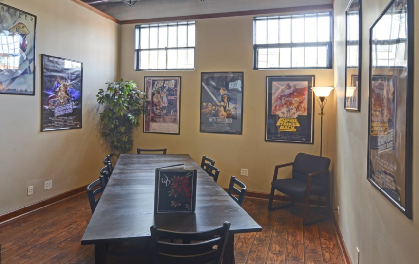 Our Game Rooms comfortably seat 8.  Want to get cozy and squeeze in a few more? We won't judge.