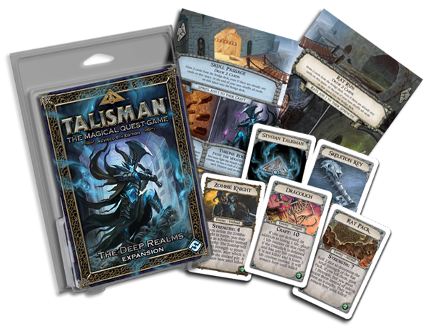 TalismanDeepRealmCover&Cards