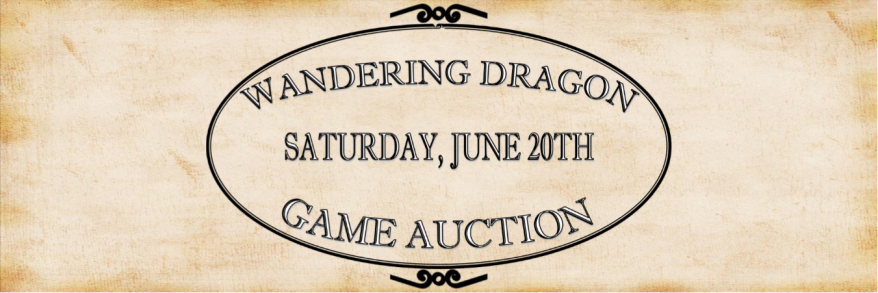 Wandering Dragon Game Auction June 20