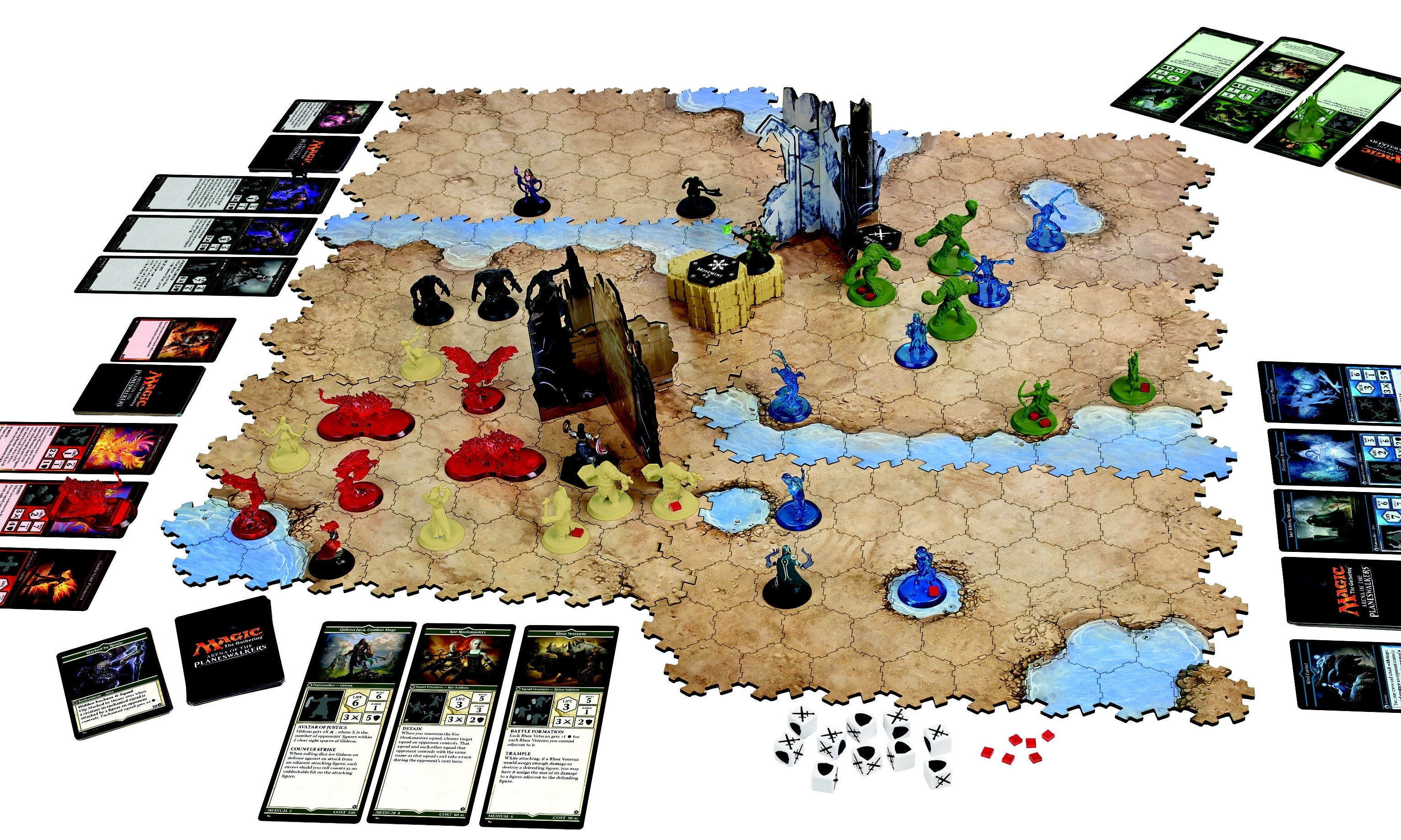 Magic: The Gathering – Arena of the Planeswalkers ... Planeswalker Arena Board Game