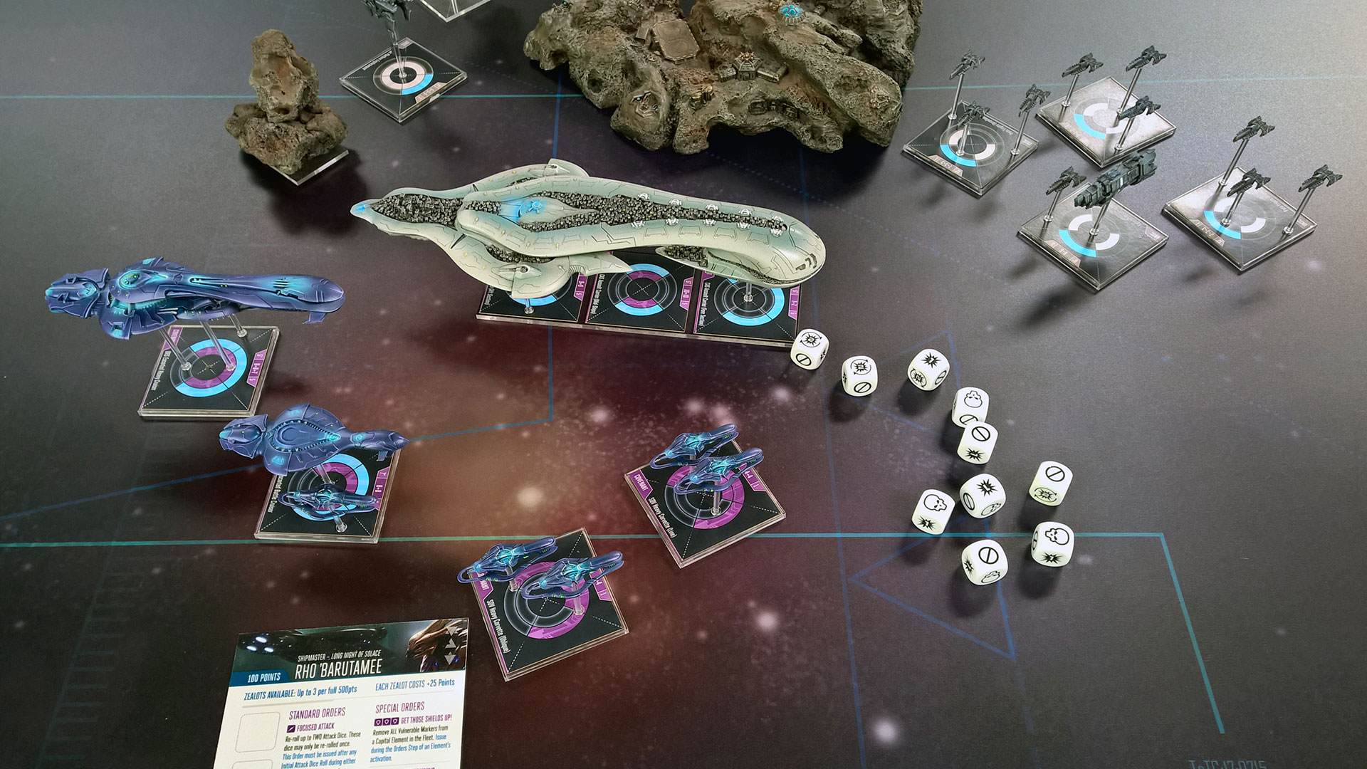 Halo Fleet Battles Has Come To The Wandering Dragon