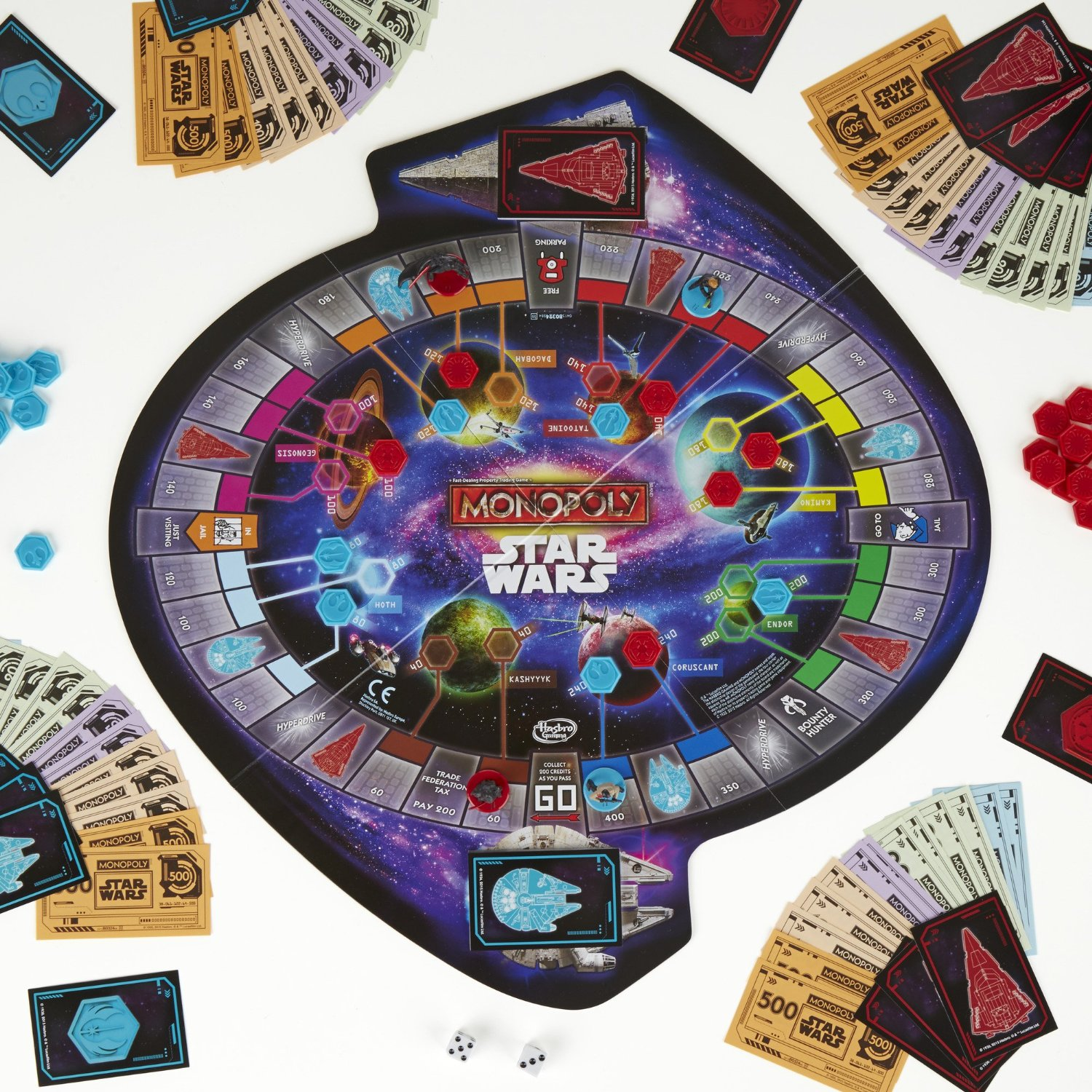 Star Wars Episode 7 Risk, Monopoly, Battleship and Chess ...