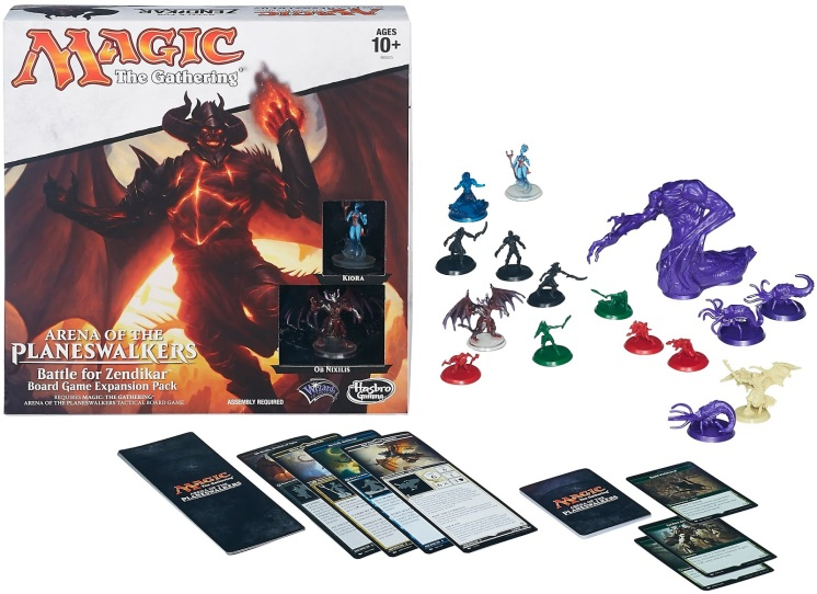 Magic The Gathering Arena of the Planeswalkers: Battle for ... Planeswalker Arena Board Game